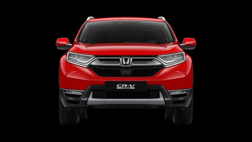 CRV rood voorkant